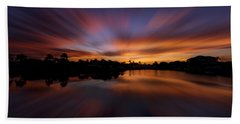 Sunrise At Naples, Florida Bath Towel