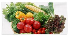Vegetables Hand Towel