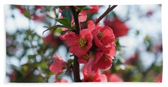Tree Blossoms Bath Towel by Elvira Ladocki