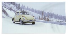 71 Vw Bug Bath Towel