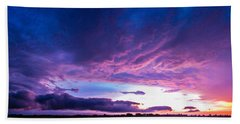 5th Storm Chase 2015 Bath Towel