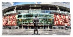 Arsenal Fc Emirates Stadium London Hand Towel