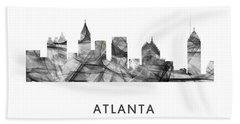 Atlanta Georgia Skyline Hand Towel