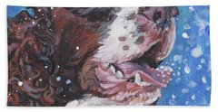 English Springer Spaniel Hand Towel