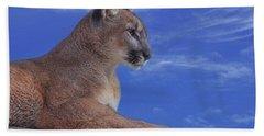 Mountain Lion  Hand Towel