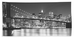 Nyc, New York City, New York State, Usa Bath Towel