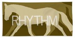 Rhythm Negative Bath Towel
