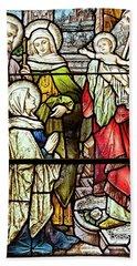 Saint Anne's Windows Hand Towel