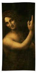 Saint John The Baptist Hand Towel