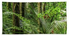 Hand Towel featuring the photograph Tropical Jungle by Les Cunliffe