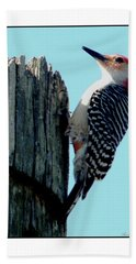 #8670 Woodpecker Bath Towel