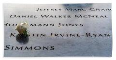9-11 Remembrance Bath Towel