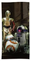 Star Wars Episode Vii - The Force Awakens 2015 Hand Towel