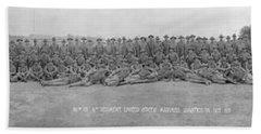 96th Co, 6th Regiment, Usmc Quantico Hand Towel