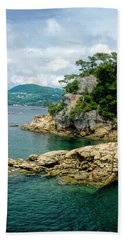 99 Islands Sasebo Japan Bath Towel
