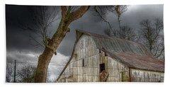A Barn In The Storm 2 Bath Towel
