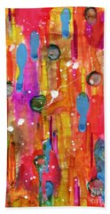 A Beautiful Mess Bath Towel by Desiree Paquette