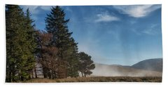 Hand Towel featuring the photograph A Beautiful Scottish Morning by Jeremy Lavender Photography