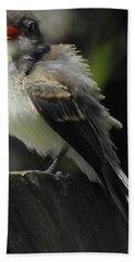 A Bird With An Attitude Bath Towel