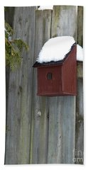 A Birdhouse To Live In Hand Towel