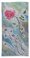 A Bit Of Whimsy Hand Towel by Carol Crisafi