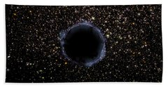 A Black Hole In A Globular Cluster Bath Towel