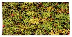 A Botanical Mosaic Hand Towel