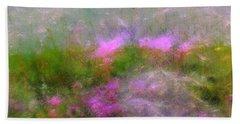 A Breeze In Monet's Garden Hand Towel