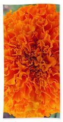 A Burst Of Orange Hand Towel