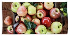 A Bushel Of Apples  Bath Towel