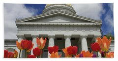 A Capitol Day Hand Towel by Alice Mainville