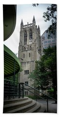 A Charlotte Church Tower Hand Towel