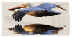 Brown Pelican Bath Towels