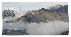 A Cloud Inversion Above Gavarnie Hand Towel