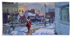 A Cold Afternoon In Tonawanda Hand Towel
