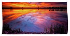A Colorado Birthday Sunrise Hand Towel