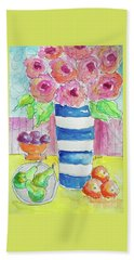Fruit Salad Hand Towel by Rosemary Aubut