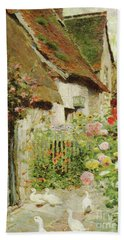 A Cottage Door Bath Towel