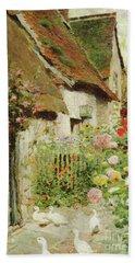 A Cottage Door Hand Towel