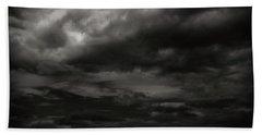 A Dark Moody Storm Hand Towel