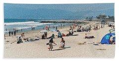 A Day At Venice Beach 1 Bath Towel