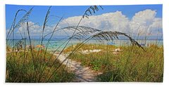 A Day At The Beach Hand Towel by HH Photography of Florida