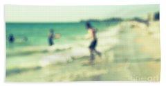 a day at the beach III Bath Towel