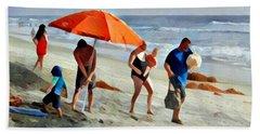A Day At The Beach Bath Towel