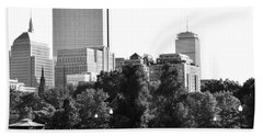Hand Towel featuring the photograph A Day At The Park by Corinne Rhode