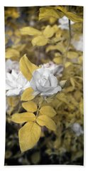 A Day In The Garden Hand Towel by Paul Seymour