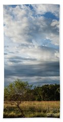 Hand Towel featuring the photograph A Day In The Prairie by Iris Greenwell