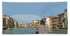 A Day In Venice Hand Towel