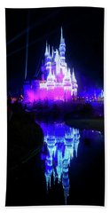 Hand Towel featuring the photograph A Disney New Year by Mark Andrew Thomas