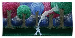 A Dream In The Forest Bath Towel